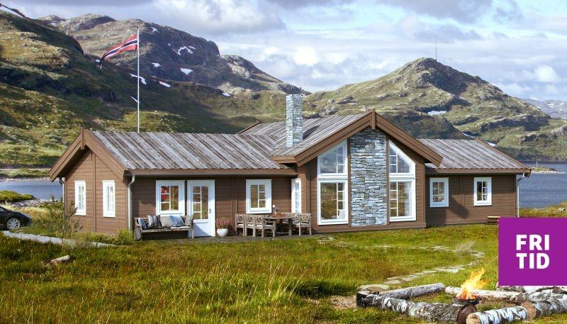 Nøkkelferdig hytte på populære Skeikampen. 3 sov, gjesterom/tv-stue, bad med mulighet for badstue, vaskerom, separat wc