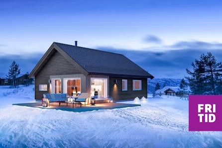 Tur-hytta Raudfjellet - prisgunstig hytte for hele familien. Solrik tomt ved Skeikampen. Langrennski in/out