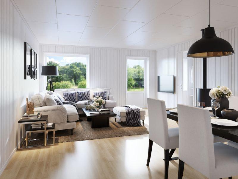 Solgård - 1 SOLGT. Smarte leiligheter med åpen stue- og kjøkkenløsning. Carport. Sportsbod. Nær Raufoss sentrum.