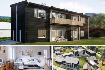 Raufoss  - Sentrumsnære leiligheter med flott utsikt! Kun en innflytningsklar igjen! KAMPANJE*