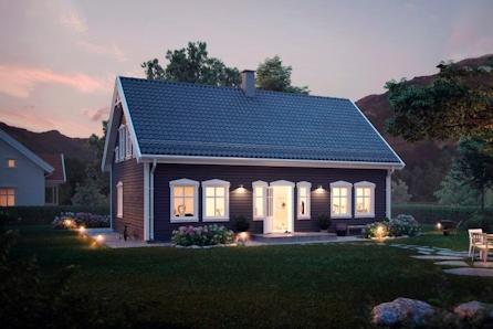 Klassisk hus med svært arealeffektive planløsninger - 4 sov - 2 bad