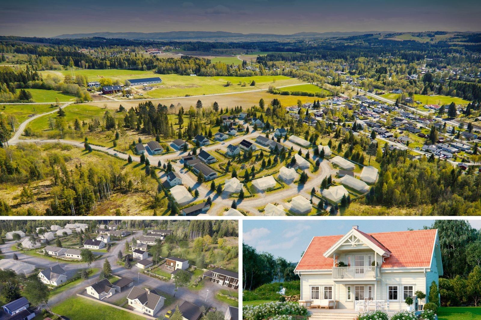 Bestselgeren Kongsheim – Tidløs bolig med god planløsning. 3-4 soverom, 2 bad, loftstue og balkong. Solrik tomt. Gode tog- og bussforbindelser.