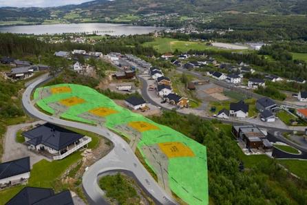 Sjelden mulighet! 5 fantastiske utsikttomter på toppen av Bergermarka til salgs fra kr. 1 190 000,-