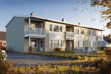 Velkommen til Krystallen 3 borettslag - 6 moderne leiligheter sentralt på Toso i Jevnaker. NÅ KUN 1 LEIL IGJEN!!