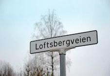 Velkommen til Loftsbergveien i Bergermarka på Jevnaker
