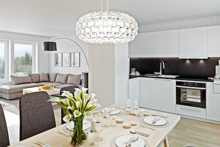 Granumstranda - Nye leiligheter med god standard og sentral beliggenhet. Gratis dobbeltboligforsikring