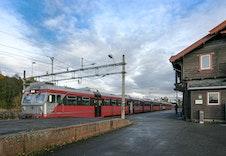 Gran togstasjon. Foto: Regionrådet Hadeland