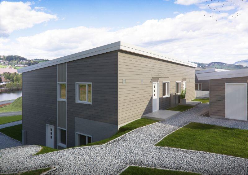 Gran - Kun 1 ledig! Moderne leiligheter med alt på ett plan|2 soverom |Carport |Solrikt | Sentralt | Bygging igangsatt!