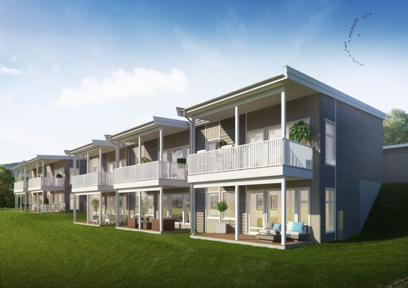 Gran - Moderne og praktiske rekkehus over to plan - 3(4) soverom - Gode solforhold og fin utsikt! 2 ledig!