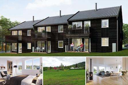 Jaren – Nye boliger med smart planløsning. Rolige og trygge omgivelser. Kun 1 time fra Oslo.