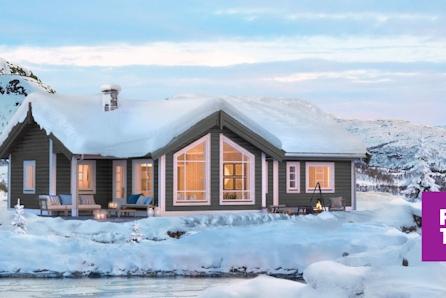 Synnfjellet - familiehytte i flott tomteområde på Klevmoseterhøgda. Solrikt og umiddelbar nærhet til skiløyper!