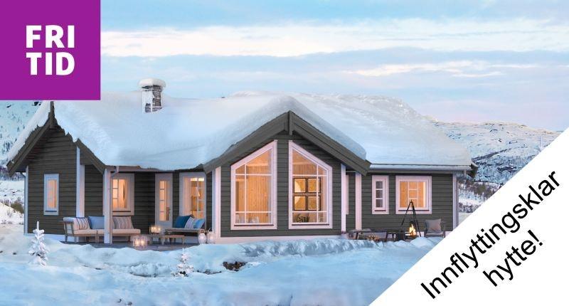 SOLGT! Nyoppført hytte ved Spåtind!  Flott utsikt og lang solgang. Skiløyper og alpinbakke rett ved hytta.