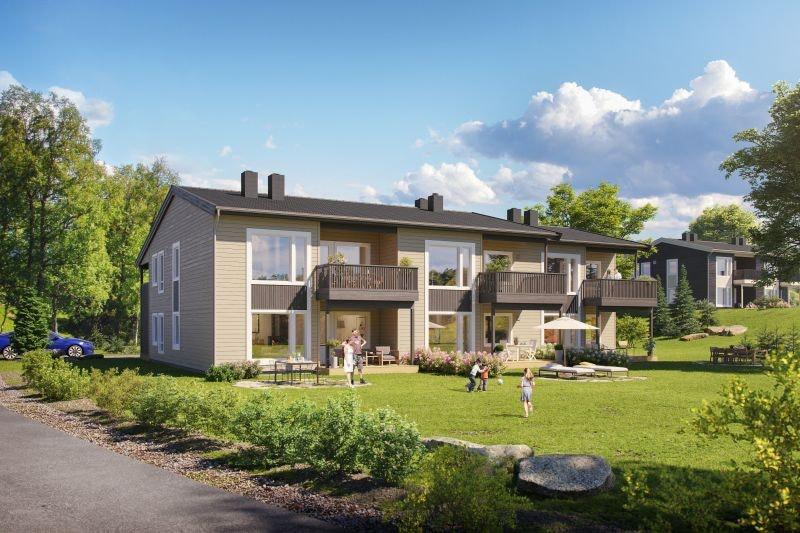 Heggenes - 5 SOLGT! Planlagt byggestart høsten 2018! Moderne og praktiske leiligheter med alt på ett plan. Carport.