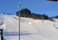 Herlig skianlegg på Kongsberg Foto: Kongsberg Skisenter