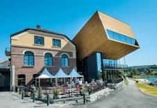 Show og restauranter i Hønefoss by!