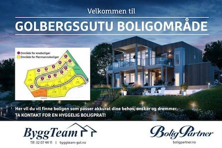 GOLBERGSGUTU BOLIGOMRÅDE - Solrike tomter med flott utsikt og romslig reguleringsplan. Her kan du bygge drømmeboligen!