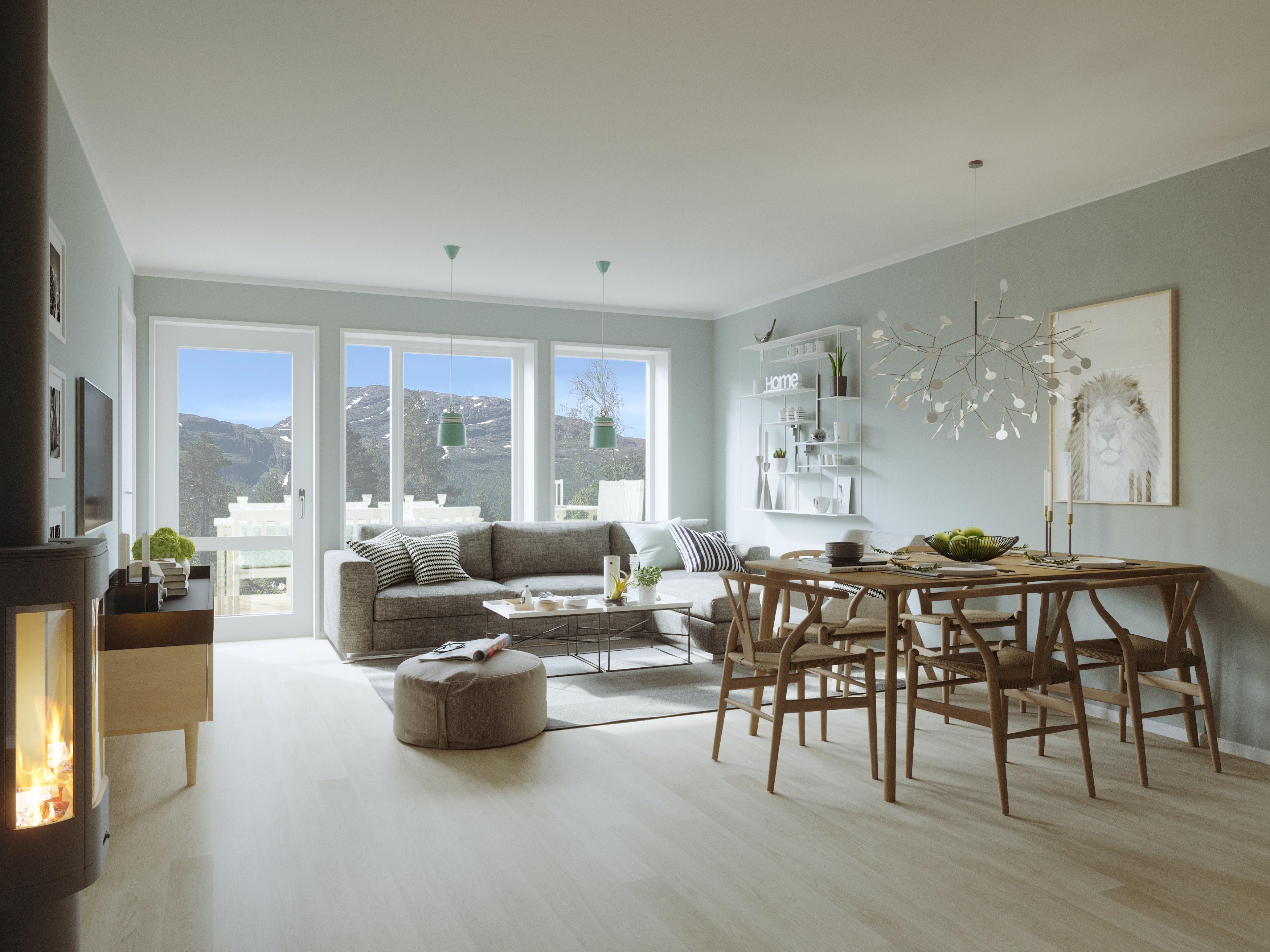 Kun 1 leilighet ledig!  Moderne leiligheter med fantastisk utsikt på Svøo. Mulighet for innflytting i juni.
