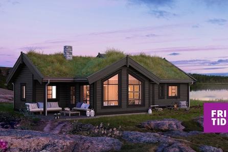 Norefjell/Narumsetra - Romslig familiehytte med 3 soverom og hems. Skiløyper i umiddelbar nærhet og kort vei til alpint.