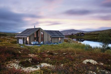 Ny Romslig hytte med 3 soverom og loftrom - Lifjell/Høgefjell, Fantastisk utsikt.