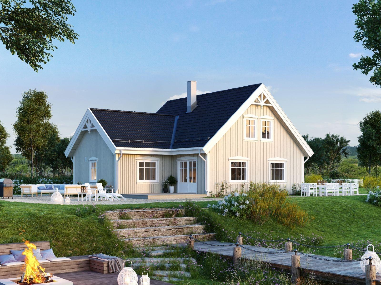 Enebolig med utsikt og gode solforhold - Mulighet for husbank..