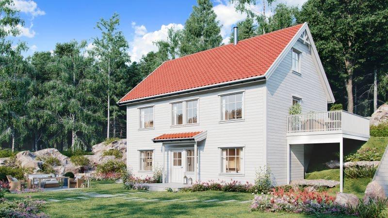 Husbank og lav månedskostnad! NY og lekker bolig i naturskjønne omgivelser, på Grødum!