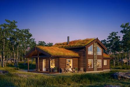 Sletthø - den ultimate hytta for storfamilien, med egen loftsetasje for barn og barnebarn!