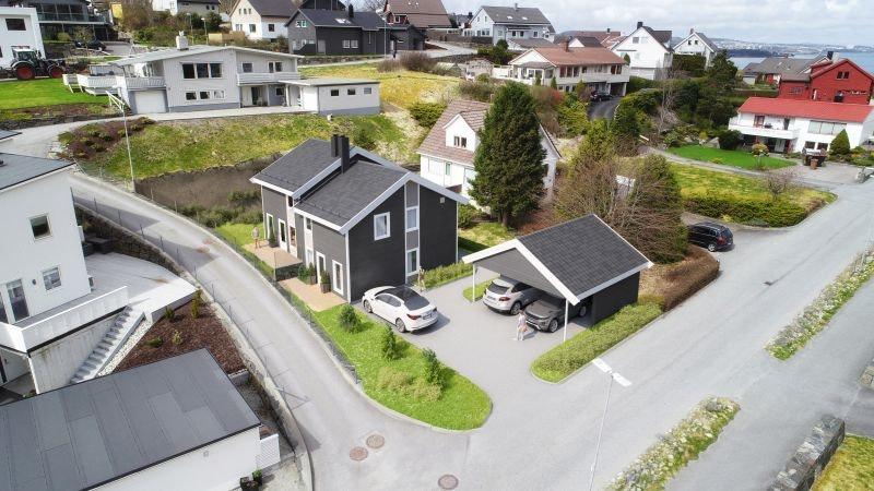 Sandnes   Ny tomannsbolig i Aspervika   Tett på naturen og kort vei til sentrum