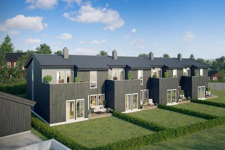 Nærbø |4 Moderne rekkehus under bygging - 3 /4 soverom 2 stuer |kun 1 igjen| Husbank finans- fra 0,986%