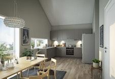Illustrasjon kjøkken