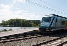 Kort vei til jernbanestasjonen med gode forbindelser både nord og sør