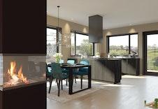 Illustrasjons av kjøkkenet. Utsikten stemmer ikke med virkeligheten.