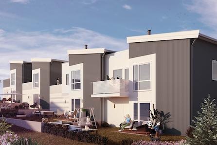 Kleppe sentrum | 2 ledige rekkehus | prosjektet er igangsatt