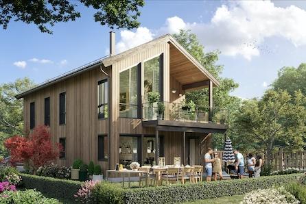 Stor eiendom på Braut med flott utsikt og mange muligheter