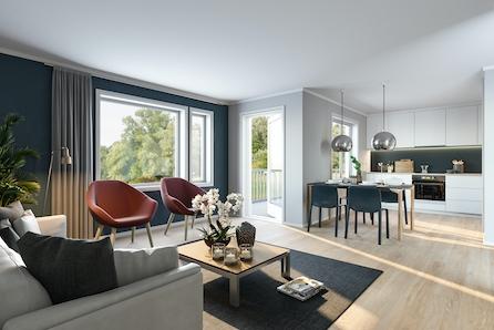 Torvastad - VISNING 10 MAI!! - Nye, lekre leiligheter med to soveromt! Godkjent for husbank finansiering!