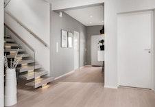 Ønsker du å ha inngangsparti i første etasje?  Dette er en illustrasjon og vil avvike fra virkeligheten.