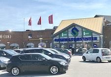 Oasen kjøpesenter - en kort biltur unna