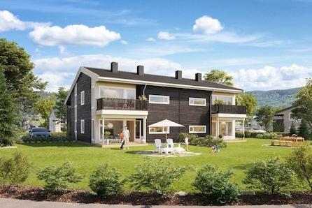 Kjekke leiligheter på Fagervolltunet-3 soverom og alt du trenger på et plan! Bo for kun kr. 1.849,- pr. mnd. med Husbank