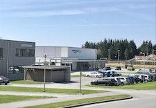 Torvastad skole og Idrettsarena rett ved siden