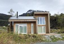 Fasade STAV 90 - bygd hytte