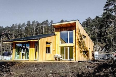 Innholdsrik hytte med 4 soverom - tegnet av Arkitektkontoret Stav!