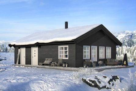 Prisgunstig hytte i Målselv Fjellandsby. Ski inn - ski ut!