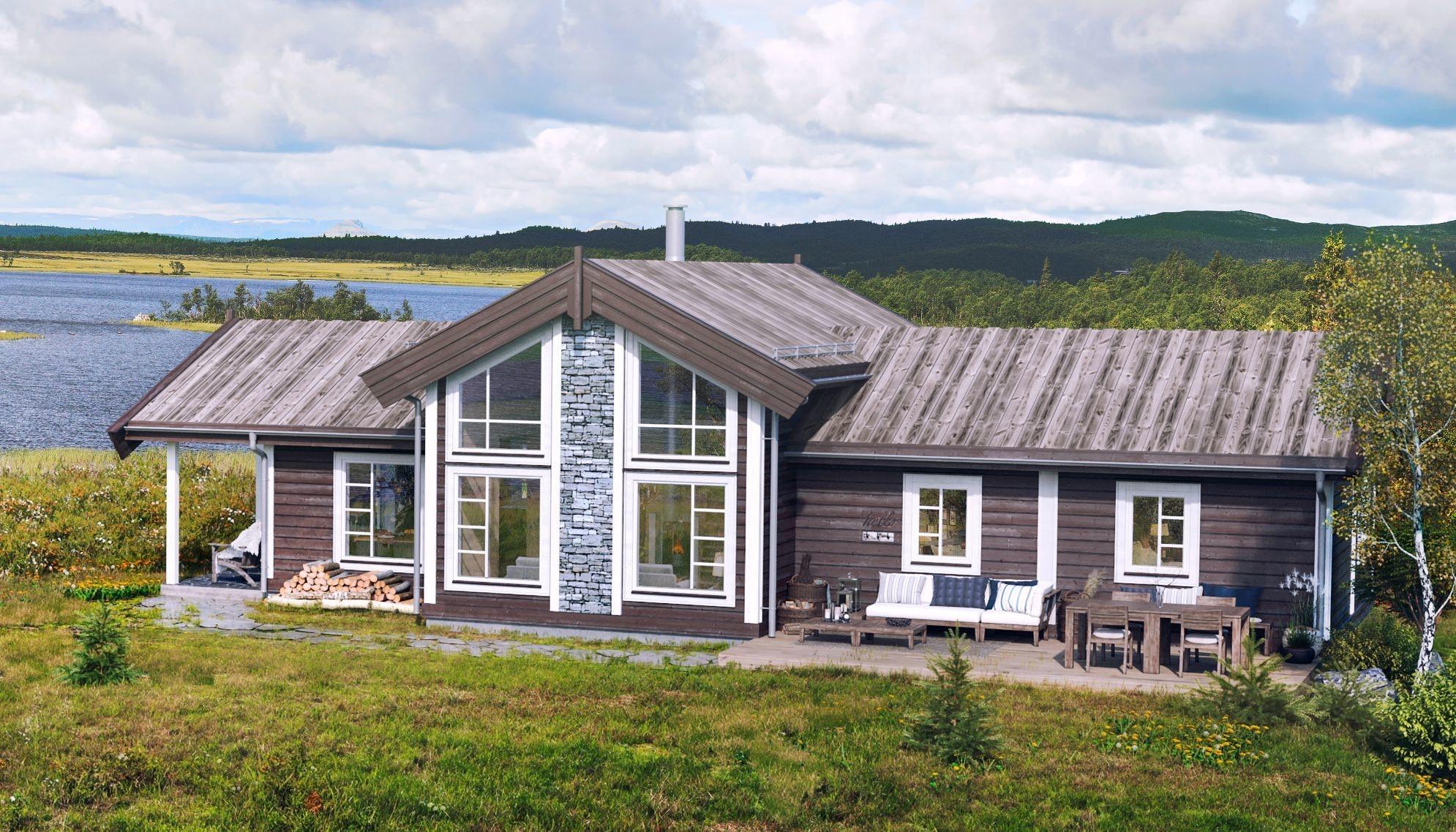 Voss, Bordalen - Nøkkelferdig hytte inkl tomt og grunnarbeid. Høy standard. ingen lurepris. Kampanje*