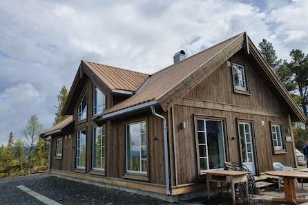 Voss - Tøff familiehytte med fire soverom fra Boligpartner -  i Vikeshagen hyttefelt!