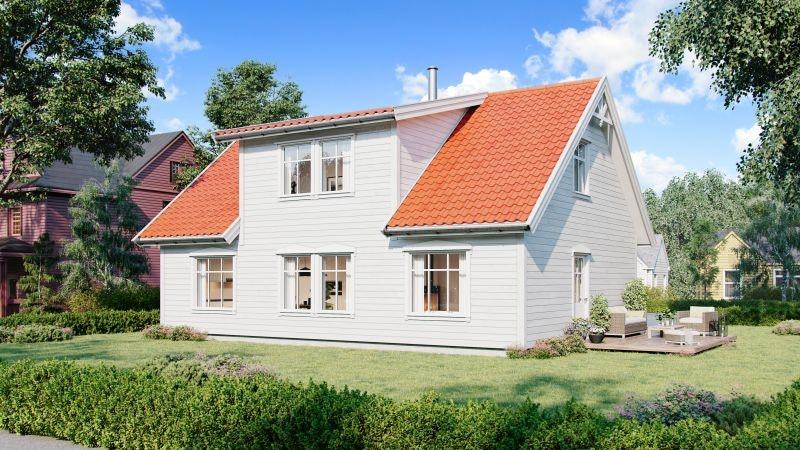 Alversund - Prosjektert enebolig klar til egeninnsats, med mulighet for husbankfinansiering. Solrikt og barnevennlig!