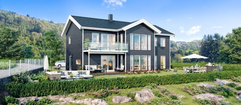 Alversund -  Tøff og moderne enebolig på toppen av det nye boligfeltet i Stølhaugane. Ta kontakt for visning!