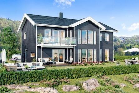 Alversund -  Moderne og stort hus. Prisgunstig. Utsikt. Mye sol.
