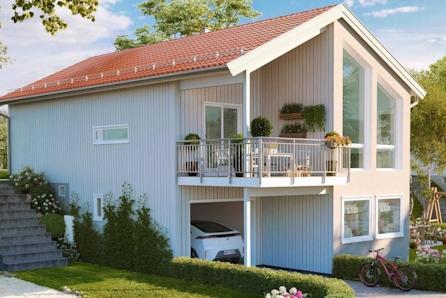 Lindås - Lekker sjøhytte med båtplass! Mulighet for nausttomt!  Solrik beliggenhet med utsikt mot fjorden.