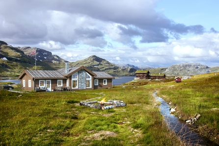 Fantastisk hytte med flott utsikt i Vik Fjellandsby!