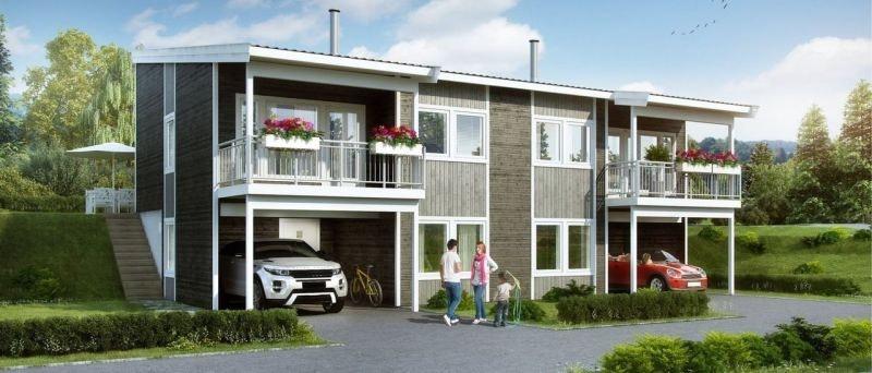 Gravdalsholten i Førde. 3 moderne tomannsboliger med 3-4 soverom, 2 med carport!