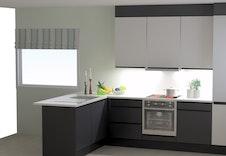 Illustrasjon. På kjøkken kan du gjere eigne tilvalg.